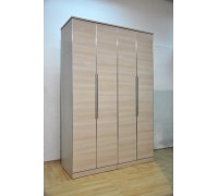 Kristal 4 Door Wardrobe with Top